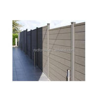 Low Price WPC Garden Fencing