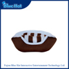 Excellent quality custom soft plush 2 in 1 pet bed for dogs
