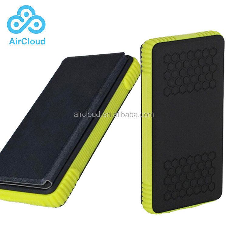 Solar Cell Phone Charger Universal Power Bank Solar Waterproof Real 10000mAh Portable Battery Charger