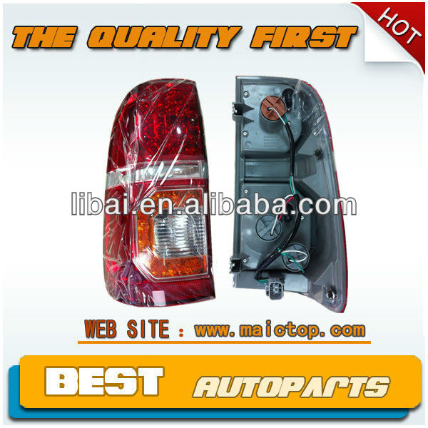 Auto tail light with LED light for toyota hilux 2012 new model