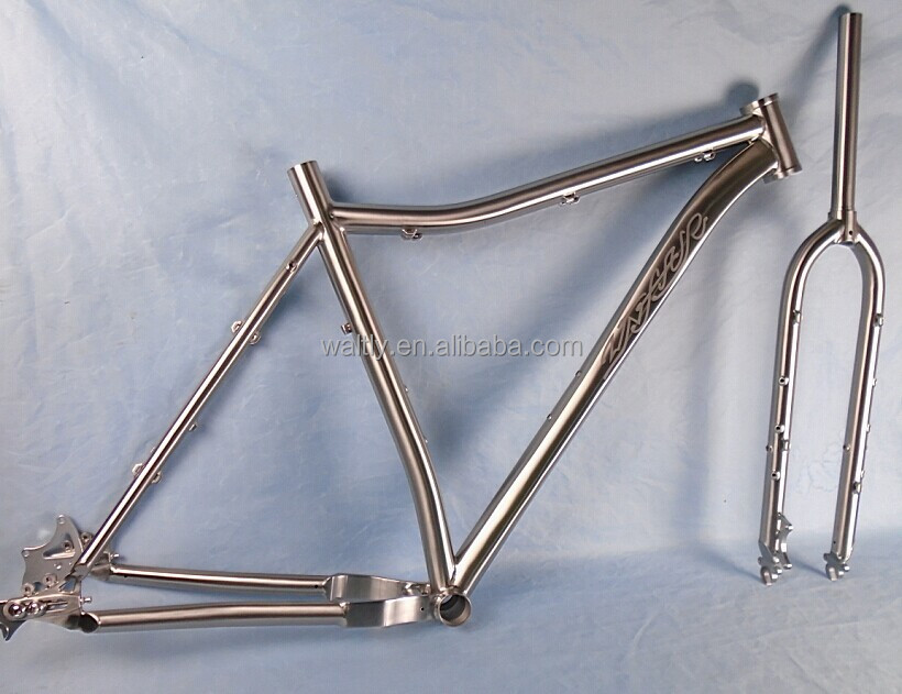 "Supper popular customized 29"" mtb bicycle titanium frames with 3.0 tyre"