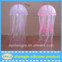 2013 hot fish tank/aquariium customized jellyfish artificial seaweed decoration