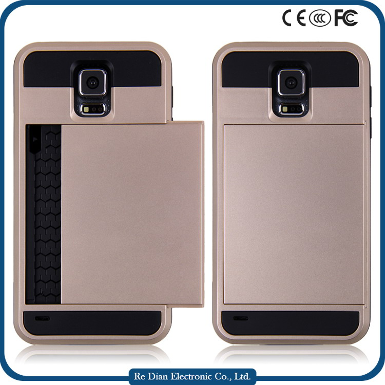 China OEM&ODM Manufacturer Moible Accessories TPU PC Luxury Phone Case Cover for Samsung Galaxy S5 i9600