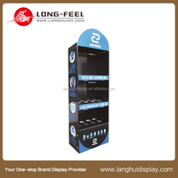 new design customized engine oil display rack