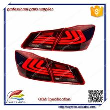 Led Strip Car Rear Lamp Tail Lamp Red White Color for HONDA For Accord 2013-2014 year