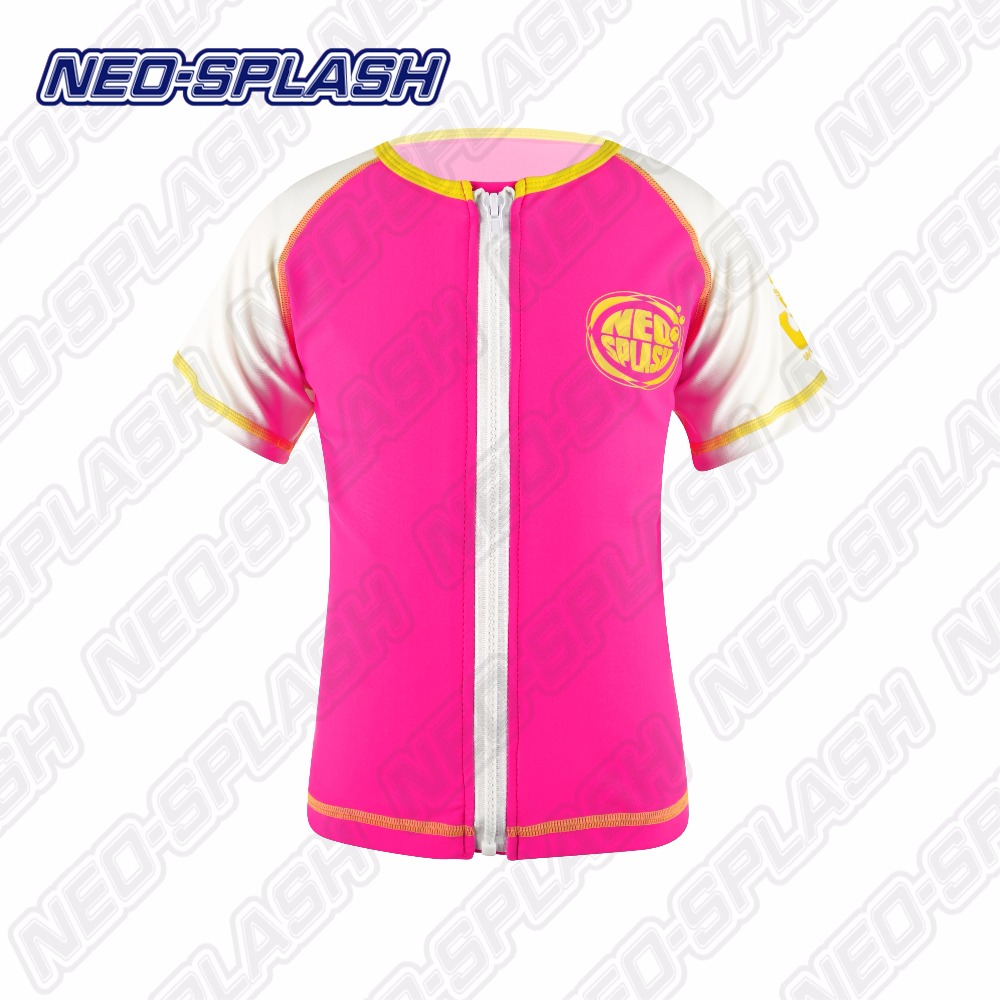 Neo-Splash Colorful Beachwear Swimsuit for Children