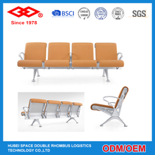 Top grade 4-seater metal waiting airport chair with suitable price