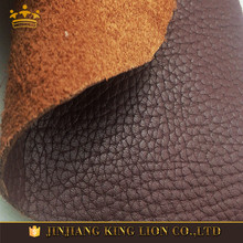 Full grain genuine cow hide leather for shoes