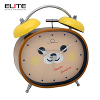 wall mounted anime funny manual fancy childrens alarm clocks