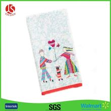SGS polyethylene tablecloths/table clothes Christmas Valentines love heart