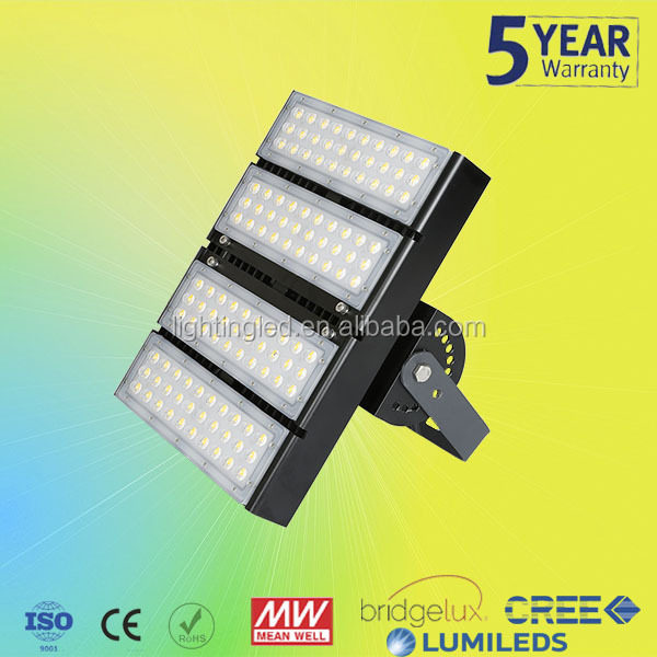Modular Design commercial led flood light IP65 130lm/w Meanwell Driver