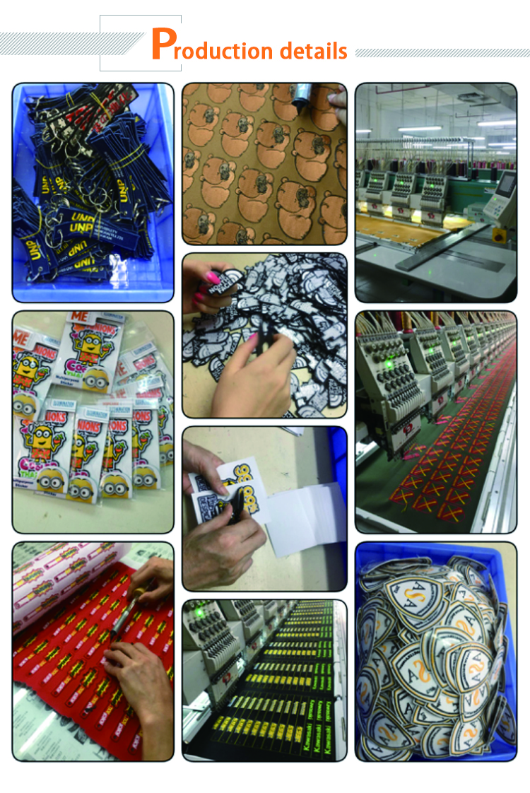 Grosir murah kustom merasa bordir patch no minimum, bordir kustom patch