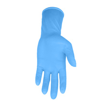 Multi color non sterile powder free smooth surface surgical gynecology gloves