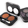 customized miss rose makeup eyebrow powder 85297EBP double color powder