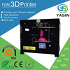 Industrial FDM 3d printer/YASIN 3 d printer with 2 kg PLA&ABS for free