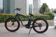 2016 Fashion oem china made fat tire e-bike with high quality cheap motorised bicycle