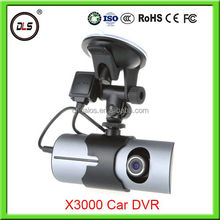 X3000 Full HD Car DVR GPS HDMI 1920*1080P 2.7'' LCD car dvr radar detector G-sensor140 Degree Wide Angle Cash Cam