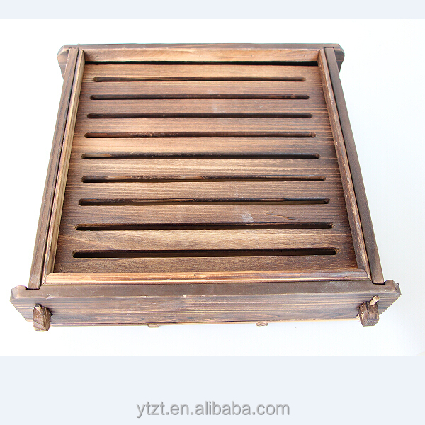 Top grade wooden sushi boat plate for KFC