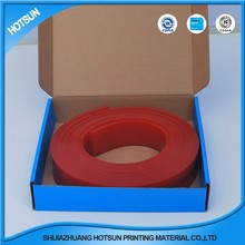 screen print squeegee rubber applicator for glass