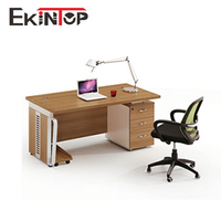 Latest office table designs models of 1.2 meter computer desk for sale