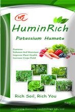 Huminrich 5kg Colorful Package Superb Refined Potassium Humate Fertilizer For Pineapple