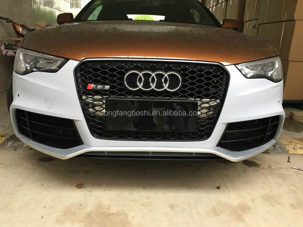 RS5 front bumper for audi A5 2013+