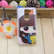 New Cartoon Plastic Print Hard Back Cover For LG G2 cases Fits G2 D802,for lg g2 waterproof case