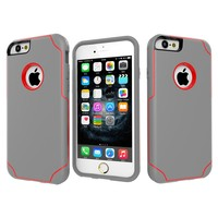 Customized Logo Cell Phone Accessories TPU+PC Bumper for iPhone 6s Case Cover