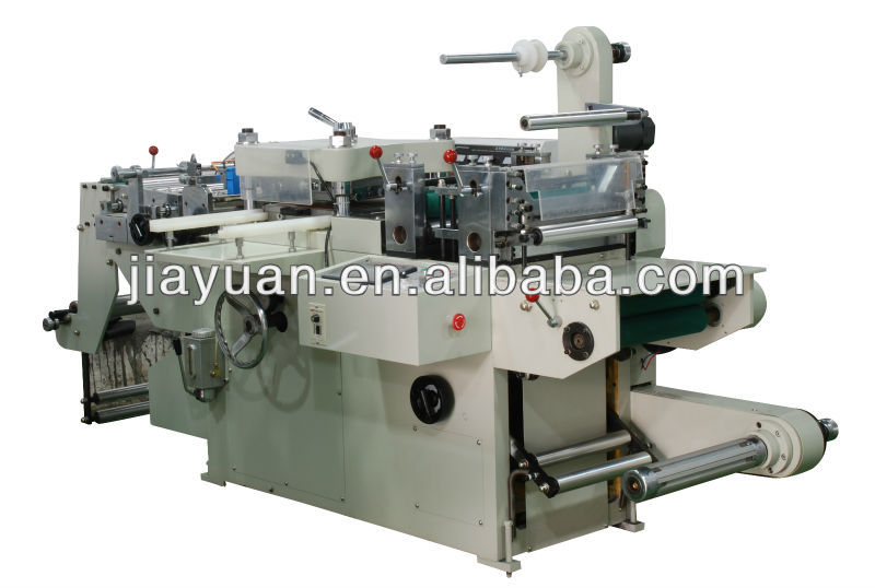Automatic Screen Protector & Adhesive Label & Foam Die Cutting Machine