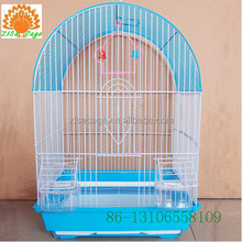 large 33x26x49cm red color wire bird breeding cage