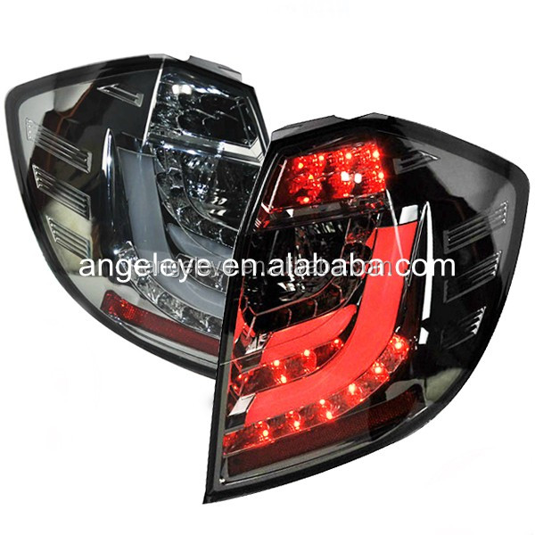 For Honda for Fit Jazz LED Tail Lamp hatchback 2009-2012 Smoke Black for BMW style SN