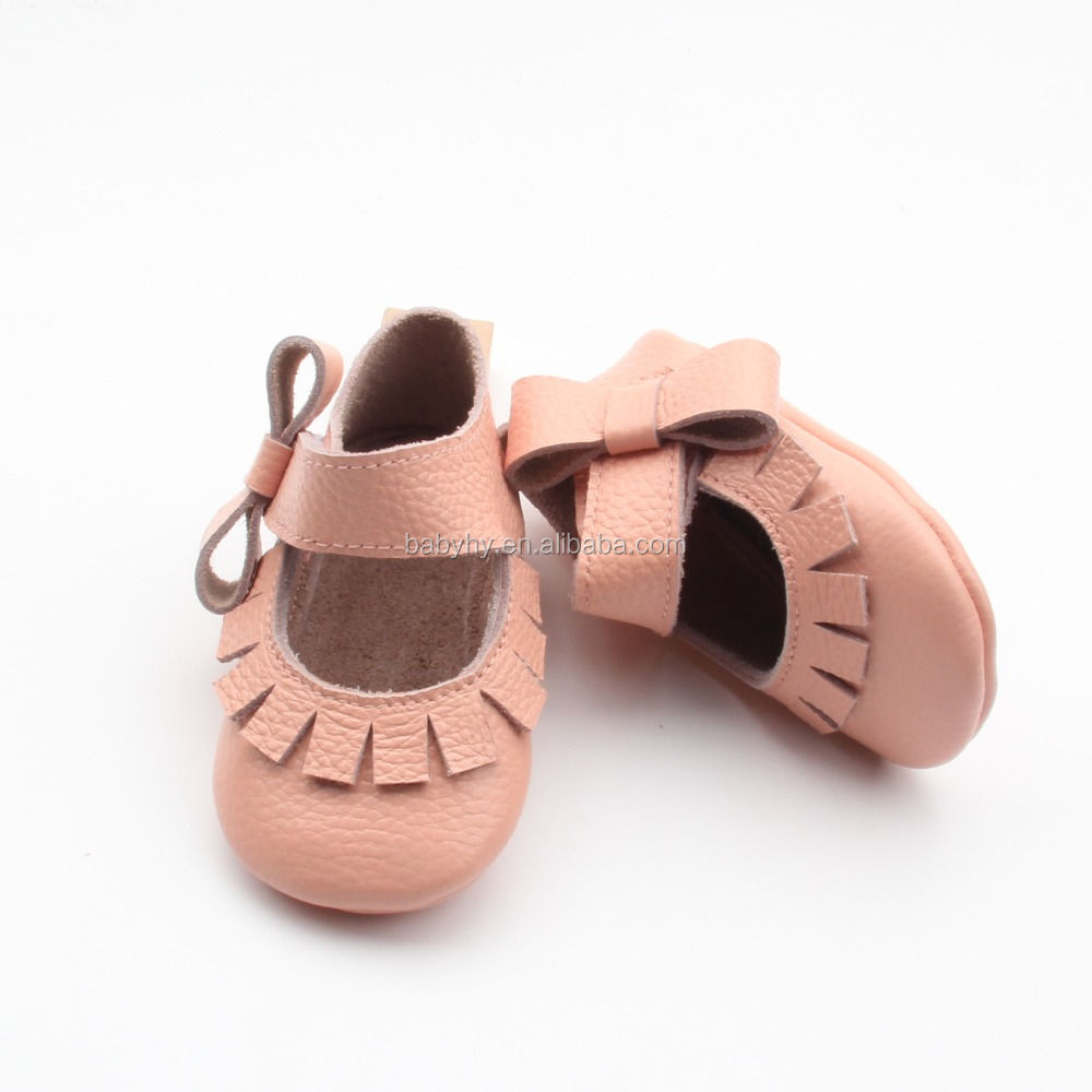 wholesale beautiful colorful genuine leather mary jane baby shoes girls