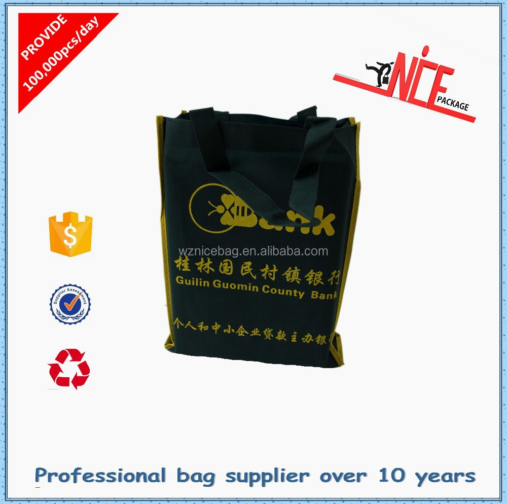 Alibaba China nonwoven easy-carry bag foldable shopping bag