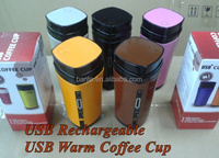 USB Powered Coffee Warmer with USB Rechargeable