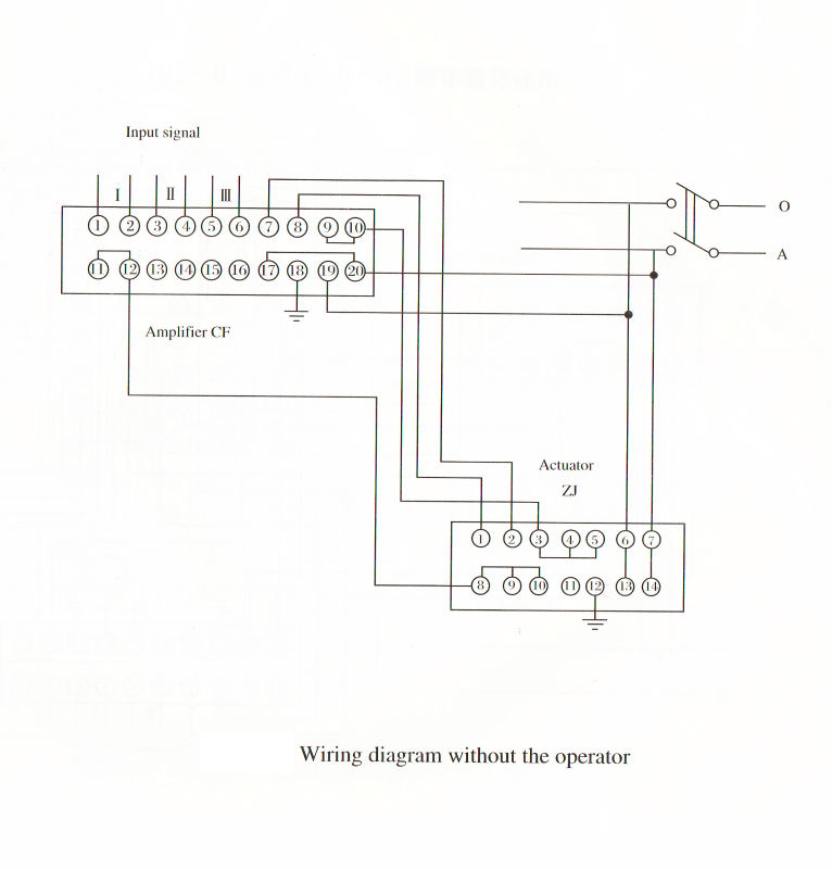 Electric Actuator For Motorized Dampers    Electric