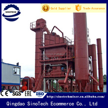 China parker stationary asphalt batch mix plant
