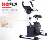 Guangzhou gym equipment semi commercial Magnetic recumbent exercise bike AMA-906L body fit