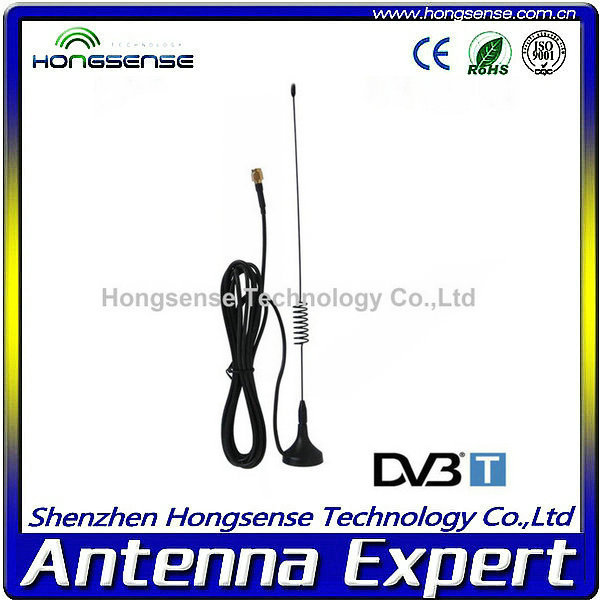 Magnetic Car Antenna/Wireless Indoor TV Antenna with Different Connectors