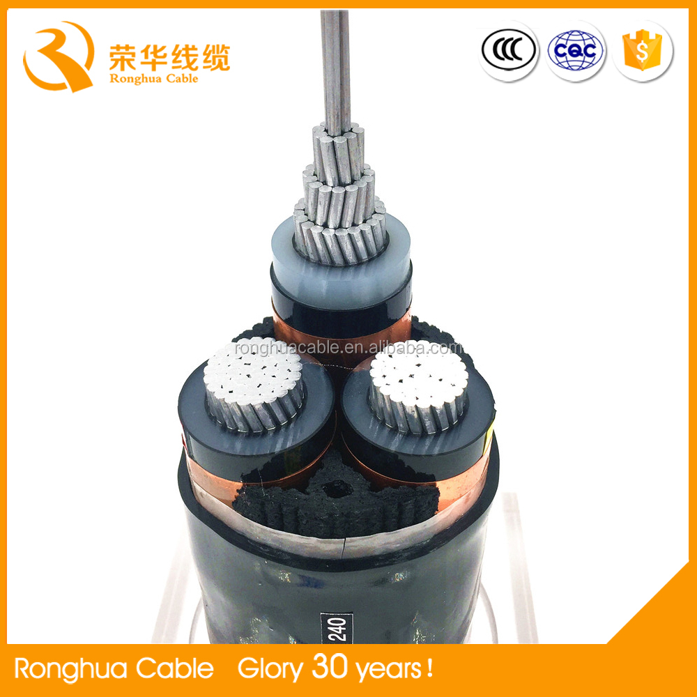 4 core vv 0.6/1kv armoured pvc insulated 400mm2 power cable