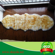 Decorative,Home,Bedroom,Hotel Use and Lines Style real plush fur rug