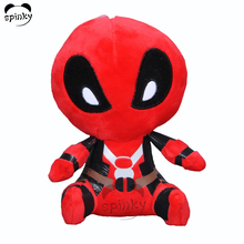 Custom Spider Cartoon Characters Soft Toy Movie Stuffed Doll For Kids Toys Collectibles