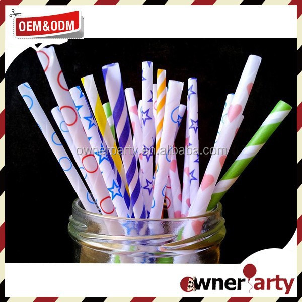 2016 New Design Crazy Straws