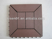Waterproof Cheap Diy WPC Decking Outdoor Flooring