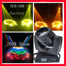 7R 16CH 50000LUX 8/16 Prism sharpy 2R/5R/7r/10R customized Colorful Glass gobo beam 200 moving head light