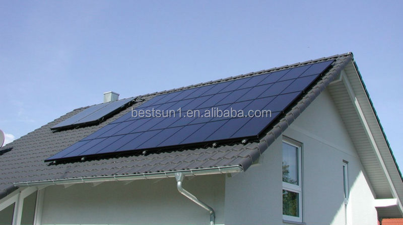 5KW SOLAR PANEL CONVERT ELECTRICITY FOR HOUSE HOLD