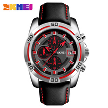 New skmei 9156 fashion quartz men watch waterproof wristwatch analog watch