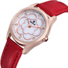 SKONE 9287 Leather Strap Wrist Lady Watches New Design Fashion Girls Watch