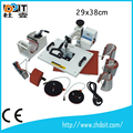 Best selling 8 in 1 combo heat press machine with CE certification