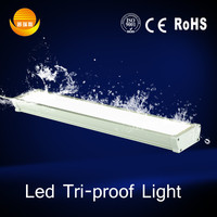 Led lighting 3000K-6500K 110 degree 9watt 18watt 36watt 50watt triproof light