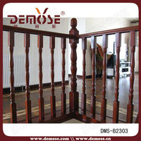 interior wood banister railings
